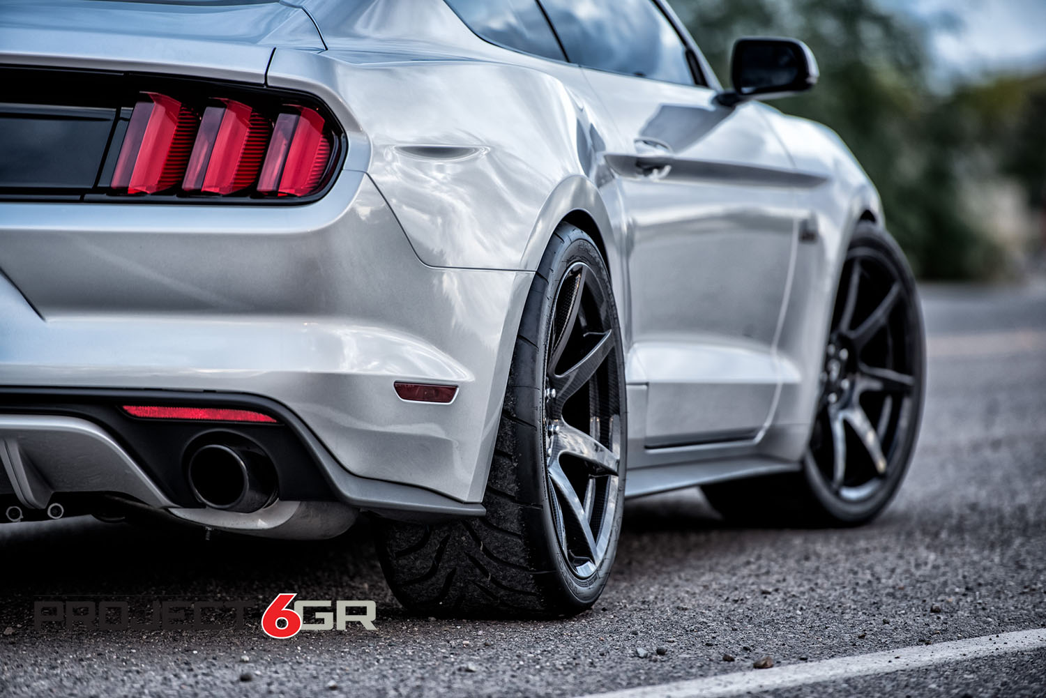 Project 6gr Wheels In Carbon Fiber Hydro Dip Finish
