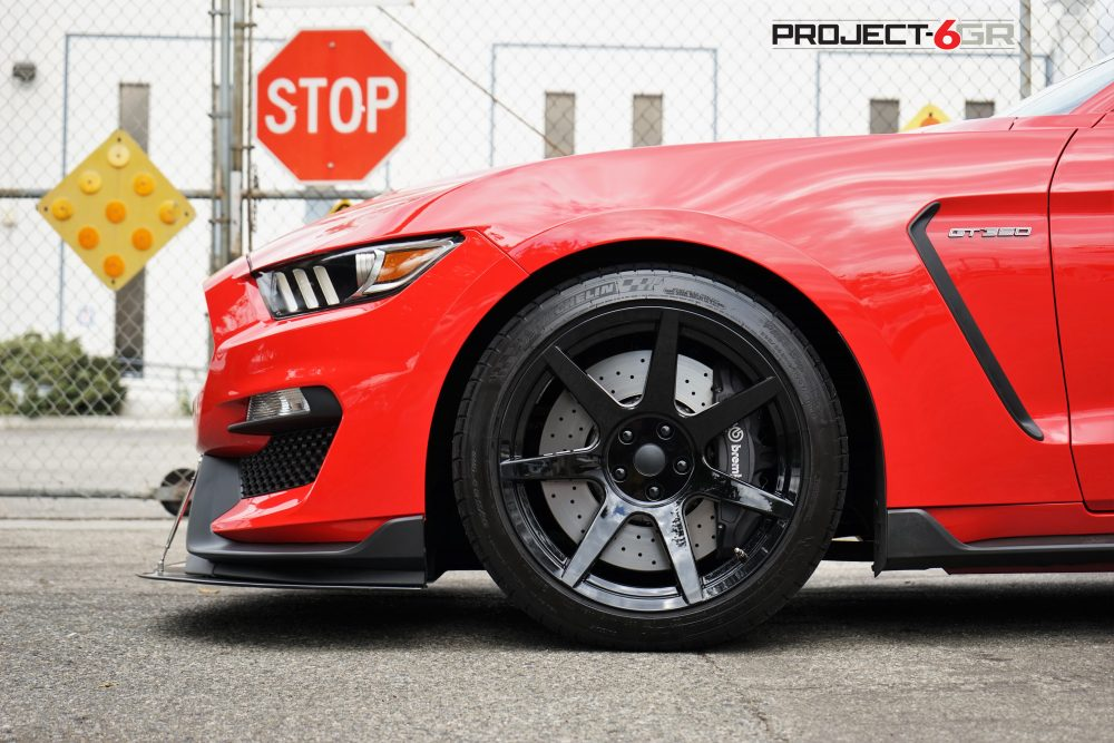 Project 6GR in Gloss Black R-spec.. now available for your Shelby GT350