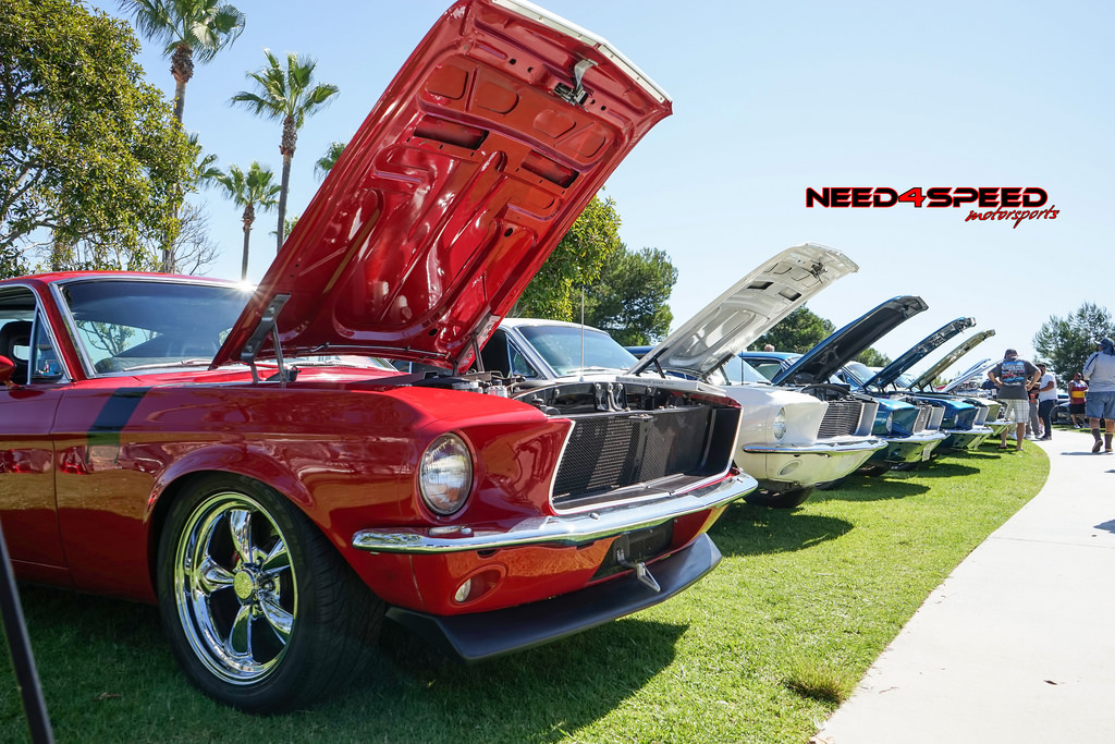 2017 Ponies at the Pike Mustang show in Long Beach CA
