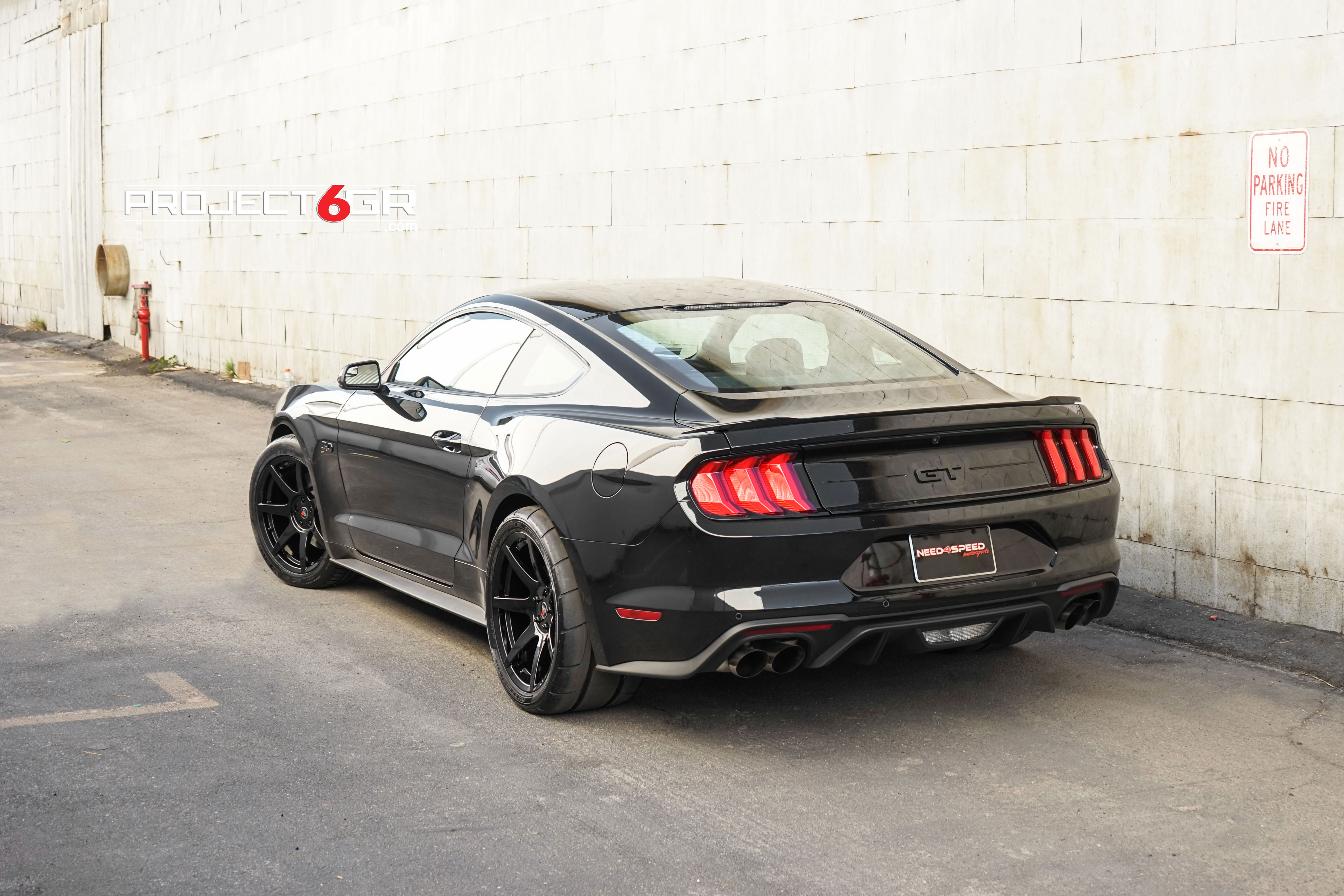 General At Tires >> World's First 2018 Ford Mustang GT sporting Project 6GR 7-Seven 345's Rear tires! - Project 6GR