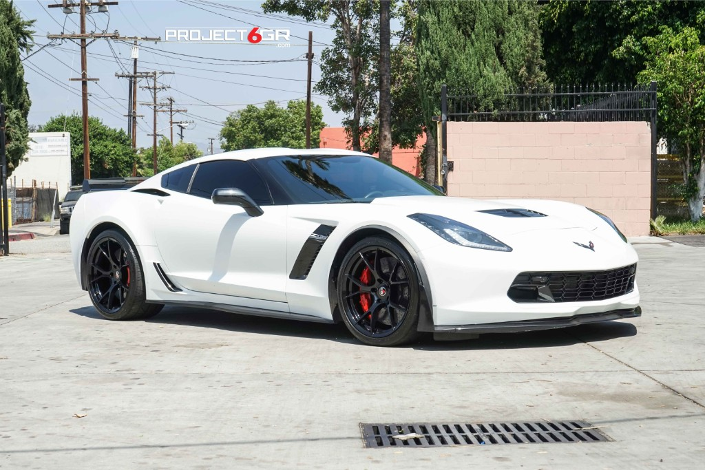PROJECT 6GR TEN GLOSS BLACK FINISH ZR-SPEC CORVETTE
