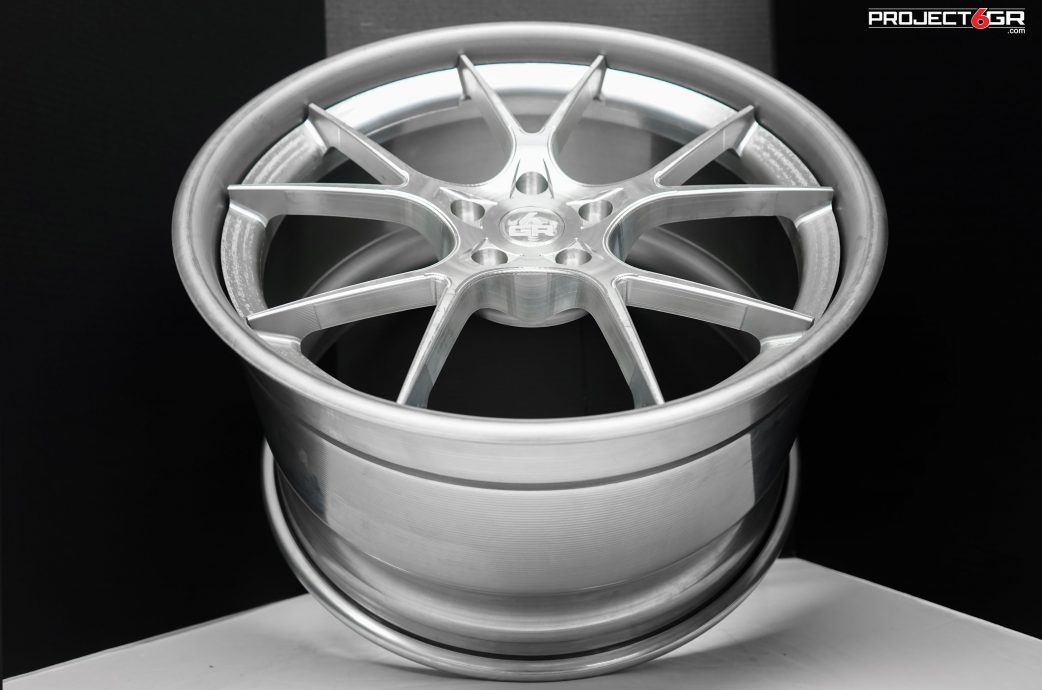 Project 6GR 10-TEN Full Forged 3-piece wheels for Ford Mustang, Dodge Challenger/Charger, Corvette