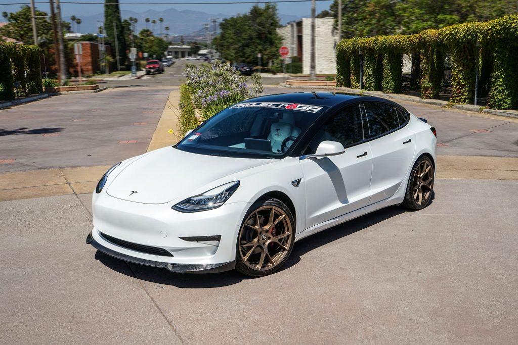 Project 6GR 10-TEN wheels for Tesla Model 3 Performance, SR