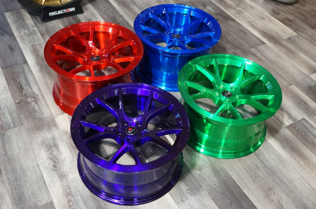 Project 6GR 10-TEN Full Forged Aero-Dynamic Design for Ford Mustang, Dodge Challenger/Charger, Corvette