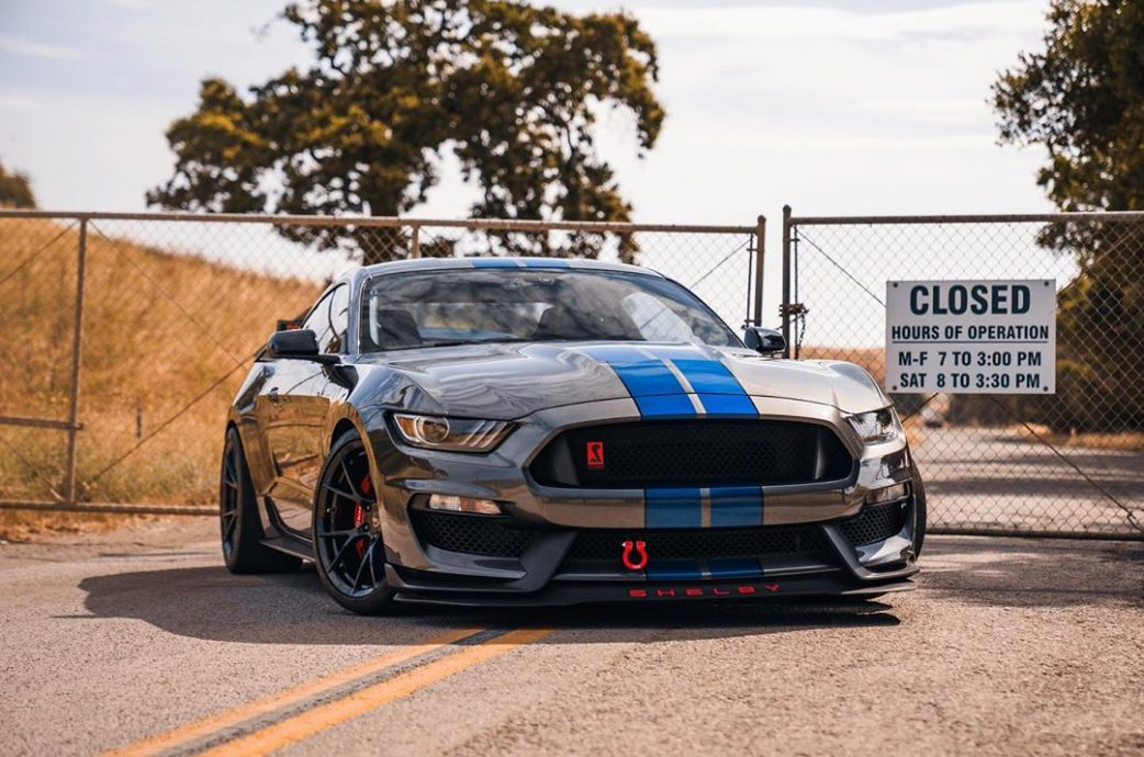 Built Shelby GT350 gets completed with the Project 6GR Full Forged 10-TEN spoke wheels