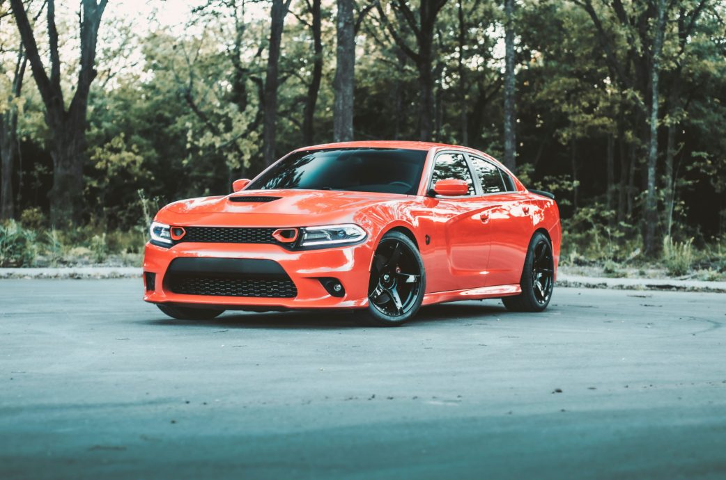 Dodge Charger Scat Pack gets a new look with the Project 6GR 5-FIVE wheels in Gloss Black