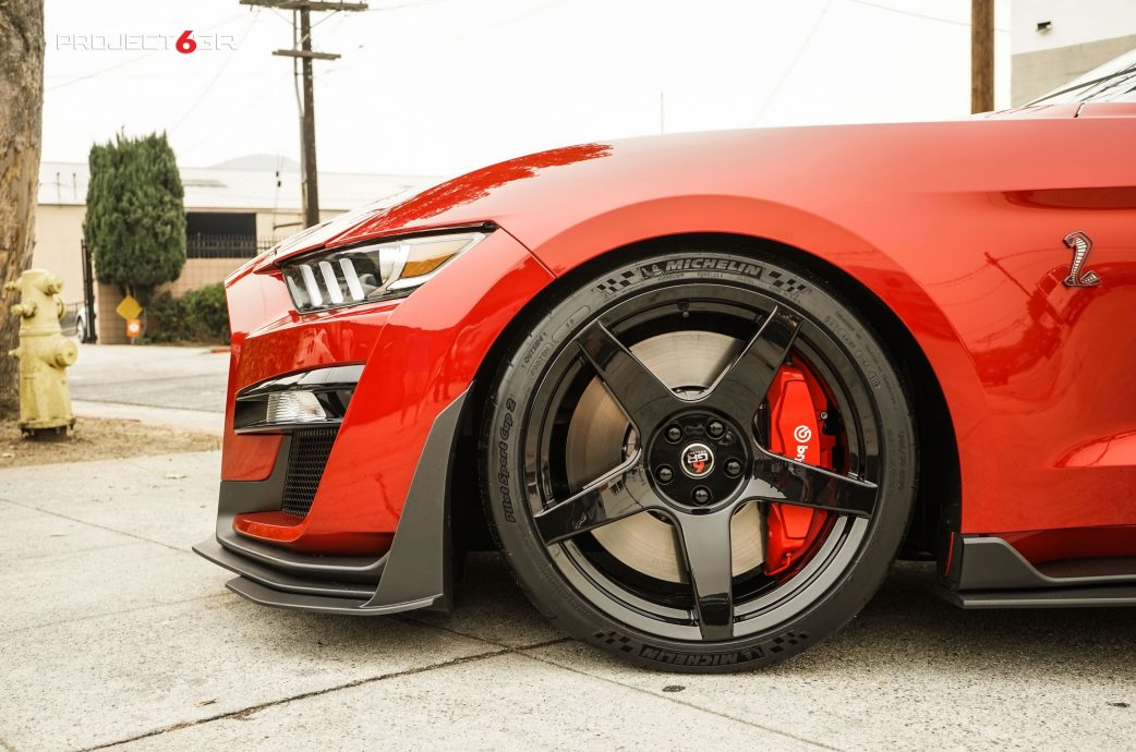 Announcement: Project 6GR wheels fitment and finishes for the Shelby GT500 / Carbon Fiber package