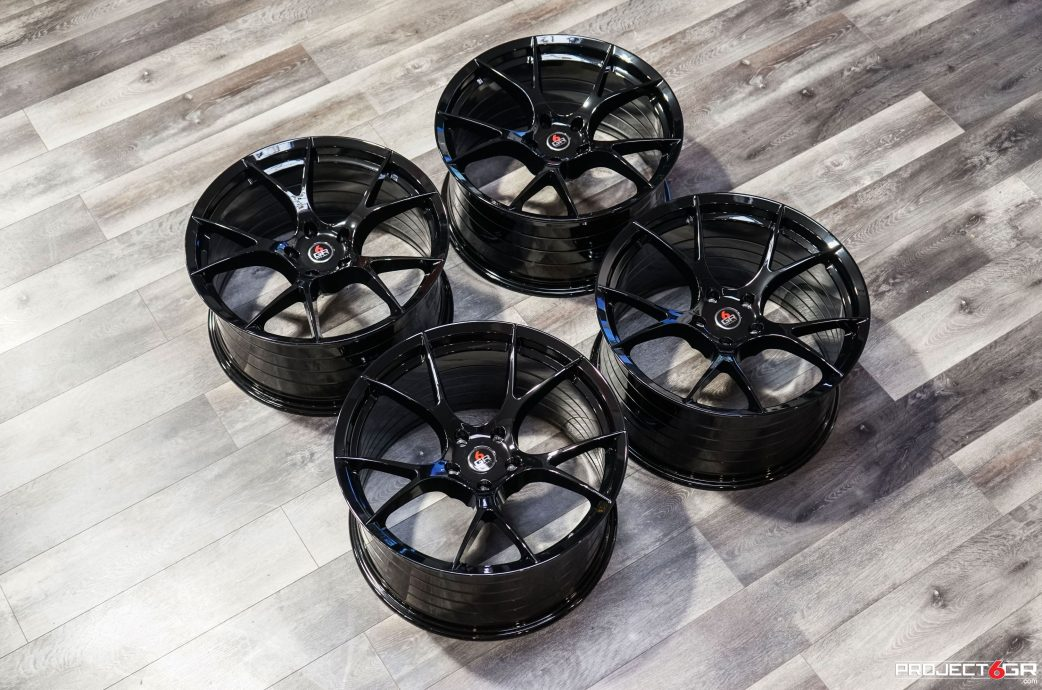 Project 6GR 10-TEN Gloss Black wheels for Chevrolet Camaro ZL1 SS 1LT, Direct Fitment