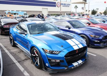 2021 Worlds Largest Shelby event at American Shelby Las Vegas, Featuring 2020 GT500, GT350R, GT350