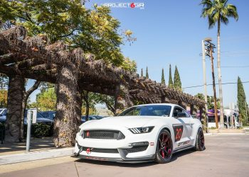 Shelby GT350R completed to perfection with the new Fully Forged Project 6GR 7-SEVEN spoke GT500 style