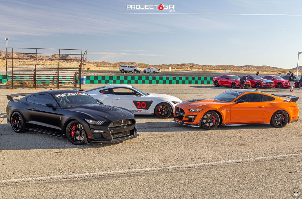 2021 Project 6GR 1ST Annual Socal Shelby Track Event at Willow Springs, Featuring 2020 GT500