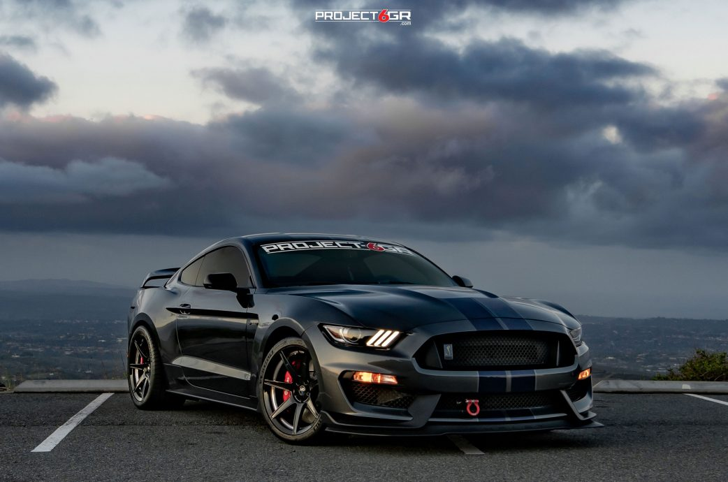 Shelby GT350 completed to perfection with the new Fully Forged Project 6GR 7-SEVEN spoke GT500 style