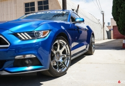 Project 6GR-SEVEN-Chrome Lightening Blue Ecoboost